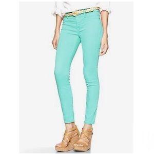 Gap Mint Green Legging Jeans